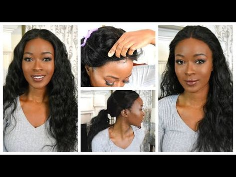 147) How To Sew Down A 360 Lace Frontal Wig: