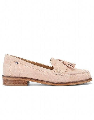 aeabb2065 Women's Tassle Loafer in Antique Pink in 2019 | Shoes | Loafers ...