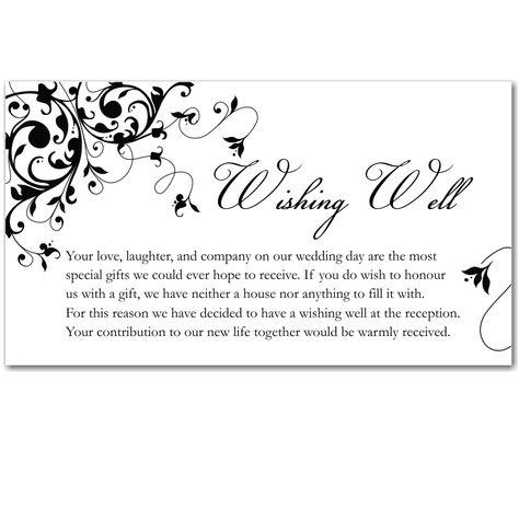Image result for wedding invitation wishing well wording wedding image result for wedding invitation wishing well wording filmwisefo