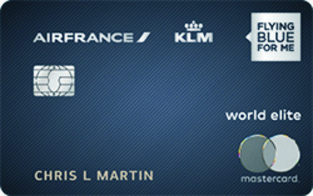 Air France Klm World Elite Mastercard Signup With Images Air