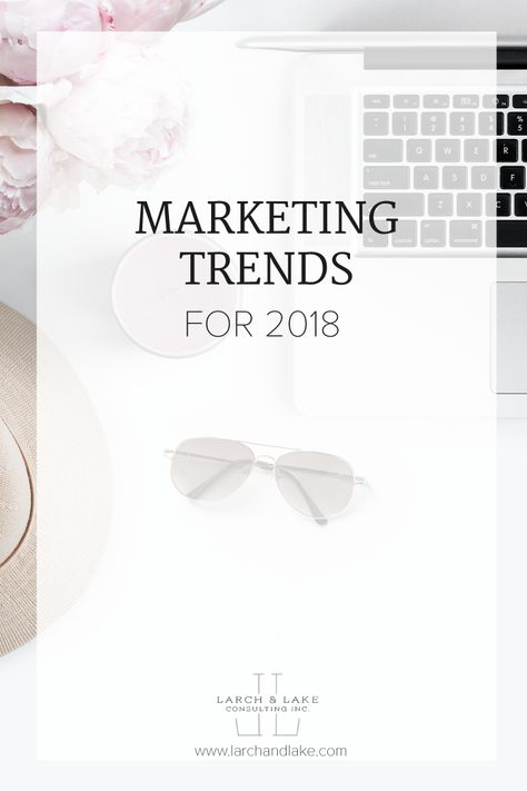 Marketing Trends for 2018 — Larch & Lake   Business Strategy