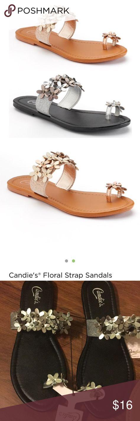 b68e425768541 Bundle Of Candies 🍭 flower strap sandals NWT