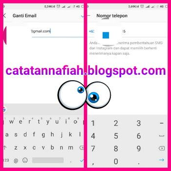 Artikel Ini Berisi Tentang Cara Mengganti Email Akun Instagram Mengubah Akun Instagram Dari Facebook Ke Email Terbaru Beserta I Instagram Nomor Telepon Telepon
