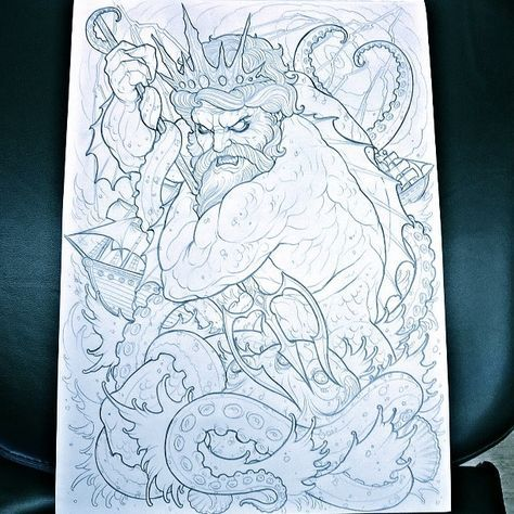 Latest backpiece design, would really love to tattoo this, will do massive discount!
