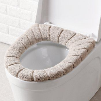 1 Reusable Adhesive Toilet Seat Cover Pads Washable Toilet Warmer Mat Cushion