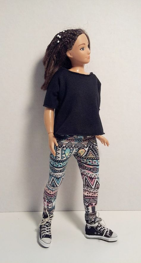 lammily denim leggings lammily doll lammily outfit Lammily clothes