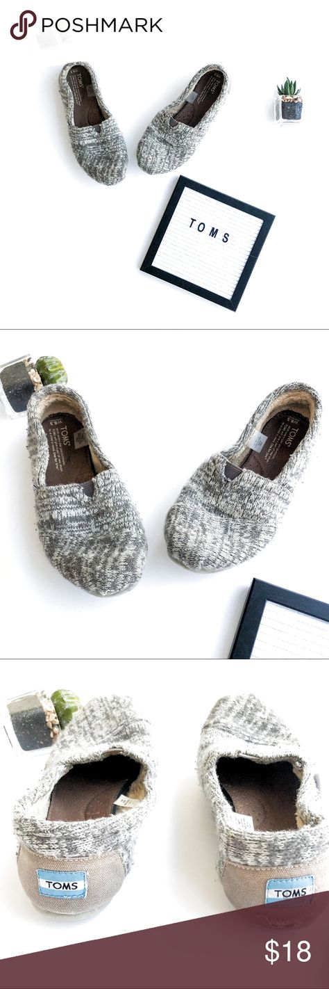 Toms Shoes 80% OFF!> Toms Sweater Slip Ons Cute gray slip on shoes by TOMS. In good condition. Flaw on right show is pictured but is not noticeable when wearing the shoe. Offers welcome! Toms Shoes Flats  Loafers #Toms #Tomsshoes #shoes #style #Accessories #shopping #styles #outfit #pretty #girl #girls #beauty #beautiful #me #cute #stylish #design #fashion #outfits #diy #design