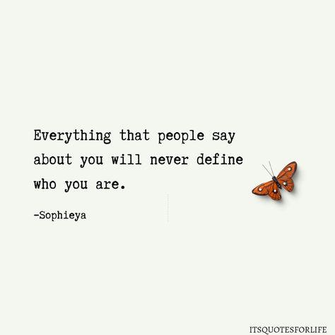 Let go of people's perception. You define your identity! #itsquotesforlife🍁 #quotesoftheday #quotesoflife #defineyourself #letgo #life