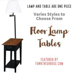Table With Built In Floor Lamp When You Need Value Convenience