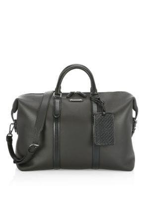 51200732bf ERMENEGILDO ZEGNA Leather Duffel Bag. #ermenegildozegna #bags ...