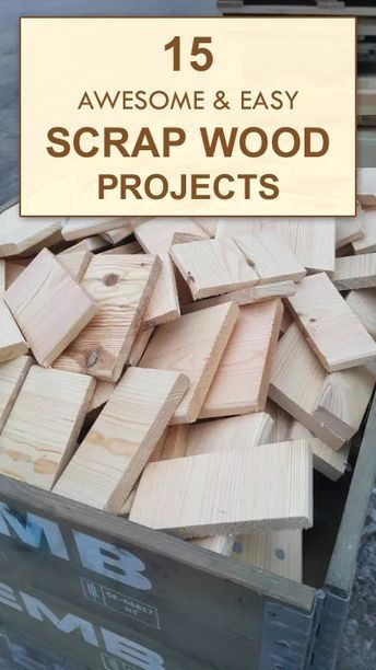 15 Awesome Easy Scrap Wood Projects In 2020 Wood Projects For Kids Easy Wood Projects Wood Projects For Beginners