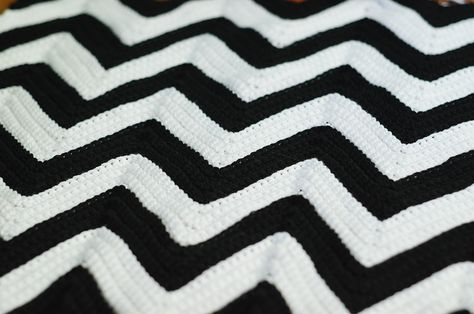 Chevron Crochet Afghan Pattern My Grandma Made Me One Of These When