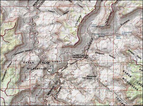 Map Of Arizona Strip.Pinterest