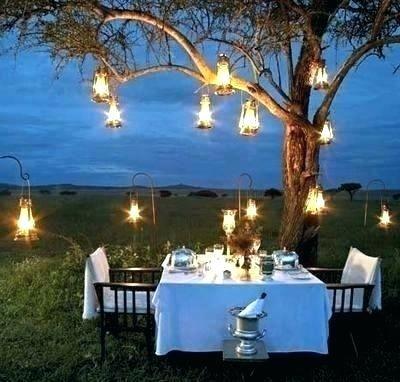Lighting Ideas Hanging Tree Lights