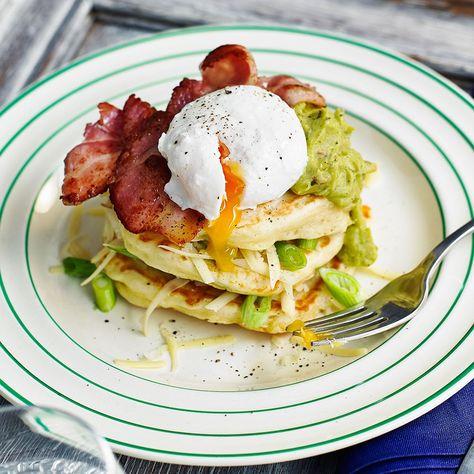 Post-run, savoury pancakes for Pancake Day