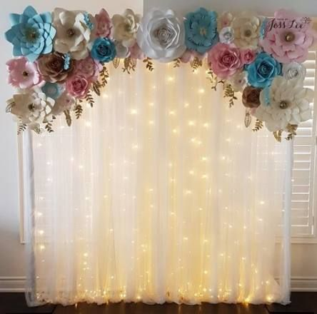55 Trendy Ideas Baby Reveal Backdrop Diy Baby Shower Decorations Baby Shower Backdrop Diy Baby Shower Gifts