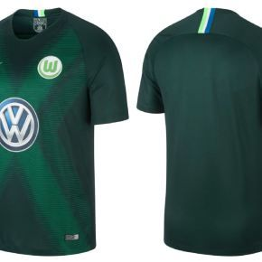 premium selection ff72f ecefa VfL Wolfsburg 2018/19 Nike Home and Away Kits   дресови ...