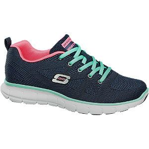 Go Step Lite-Interstelllar, Baskets Femme, Multicolore (Charcoal/Teal), 37 EUSkechers