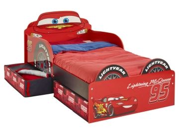 Lit Voiture 70x140 Cm Disney Cars Conforama France