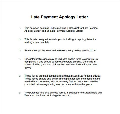 sample apology letter for being late free documents download pdf - how to make an apology letter