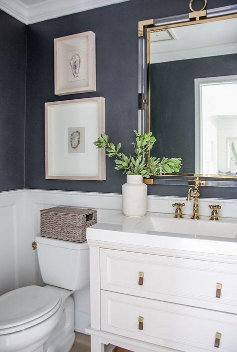 Double Bathroom Vanity Designs Ideas - If area authorizations, 2 sink locations .Double Bathroom Vanity Designs Ideas - If area authorizations, 2 sink locations .Home Wall Ideas Home Design, Luxury Interior Design, Bathroom Interior Design, Design Ideas, Design Trends, Bath Design, Interior Design Masters, Restroom Design, Design Homes