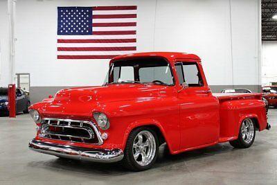 1957 Chevrolet 3100 11619 Miles Red Pickup Truck 350ci V8