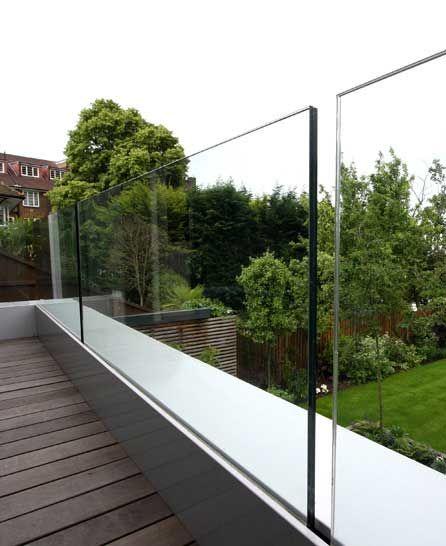glass fence glass balcony railing design