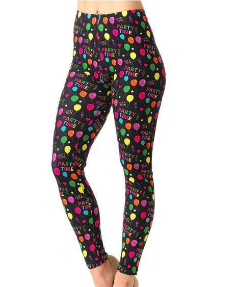 Women/'s Leggings One Size Multi Color Abstract Print OS 2-12 Buttery Soft