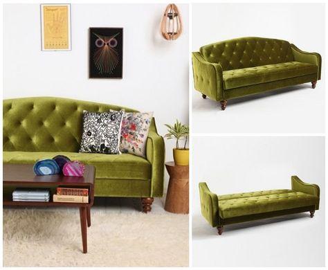 Grunes Schlafsofa Wohnzimmer Sofa Sofa Design Kleines Schlafsofa