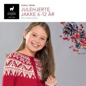 DSA54 05 JULEHJERTE GENSER 1 12 ÅR | Du Store Alpakka