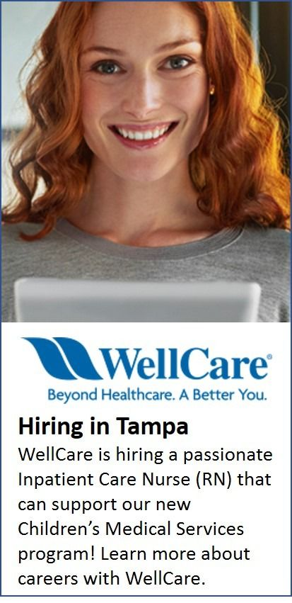 Hiring In Tampa Children S Medical Medical Services Healthcare Management