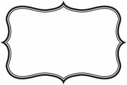 picture free stock collection of frame. Label border clipart