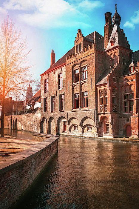 Fine Art Travel Photography Stunning Brugge Belgium