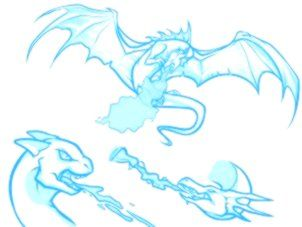 How To Draw A Fire Breathing Dragon Dragons Breathing Fire Step