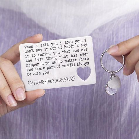 Product information Key accessories classification: keychainStyle: UnisexShape: Heart-shapedPendant material: titanium steelPackaging: Individually packedCustom processing: YesMaterial: titanium steelCategory: Keychain Packing list Keychain*1
