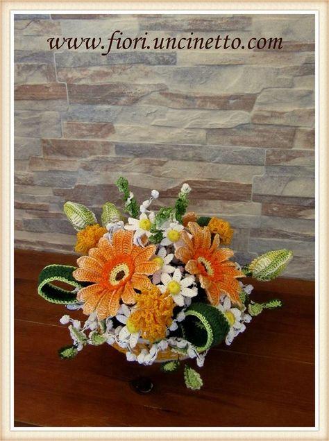 Catalogo Fiori.Catalogo Fiori All Uncinetto Crochet Flowers Fiori Fiori
