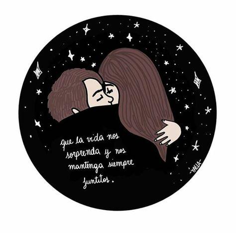 Que la vida...  .  .  .  .  .  Ilustración: @enlasnub3s