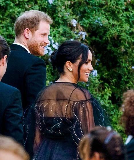 Prinz Harry Und Herzogin Meghan Auf Der Hochzeit Von Misha Nonoo Prinz Harry Herzog Prinz
