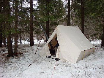 snowtrekker light weight canvas tent set up in woods with person insid. & Snowtrekker Pictures | Snowtrekker Images | Snowtrekker On ...