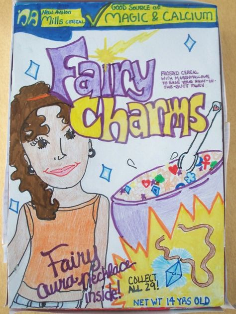 games on cereal box YCN PROJECT Pinterest Book - cereal box book report sample
