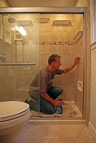 Tile Shower Soap Dish Inserts Matte