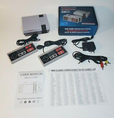 Mini Retro Game Anniversary Edition Console 620 Nintendo Built In Classic Games In 2020 Classic Games Retro Gaming Retro