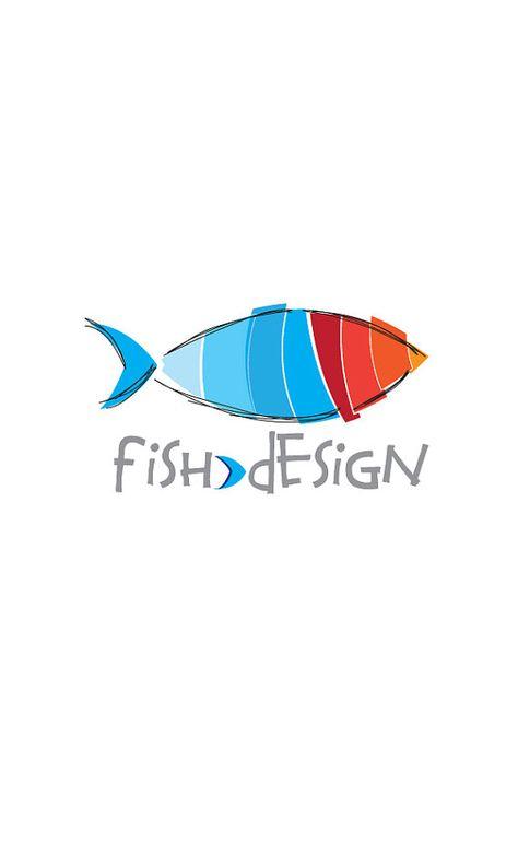... about Fish Logo on Pinterest : Logos, Logo design and Logo Templates