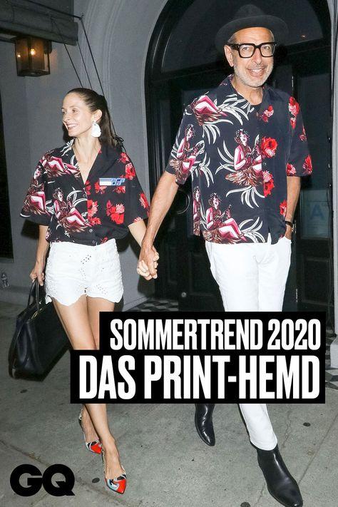 Sommertrend 2020: Printhemden! The Rock, Will Smith und Jeff Goldblum machen es vor