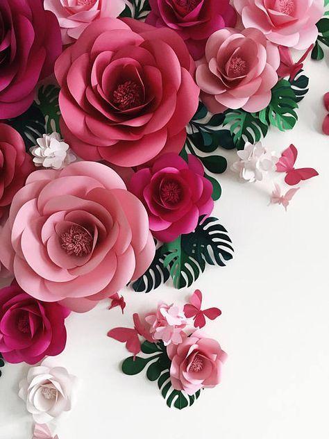 Dieses Papier Blume Hochzeit Kulisse ist eine auffällige Wandverkleidung für Ihre Hochzeitsfeier. Verwenden Sie dieses Papierblume als Hintergrund oder Wand gesetzt, um Ihre Hochzeitsfotos, oder Ihre obersten Tisch, Gebäude, eine moderne und schicke Gefühl insgesamt Rahmen!!! Dieses