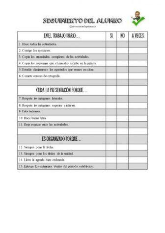 Fenomenal Registro Para Reflejar El Trabajo En Clase Informes Escolares Trabajo En Clase Registro De Tareas