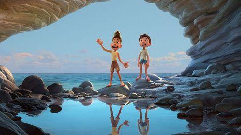 Pixar's Luca trailer promises a lush sea monster tale