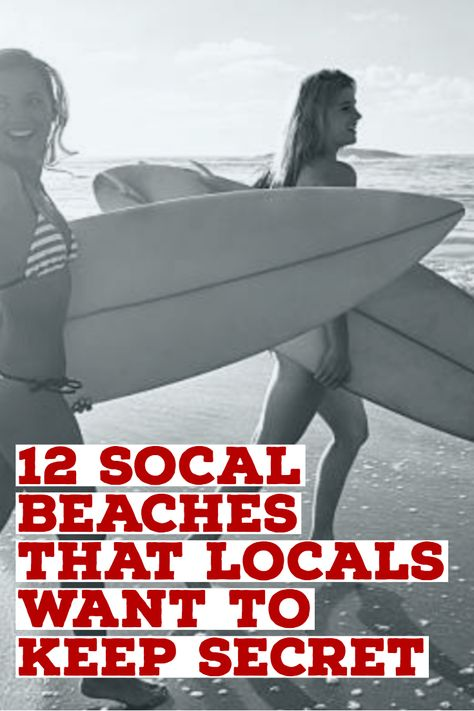 OC Beaches Locals Don't Want You to Know About