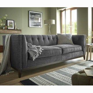 Henley 3 Seater Sofa In 2020 Fabric Sofa Seater Sofa Sofa