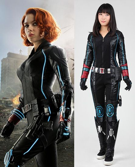 Black Widow The Avengers Age Of Ultron Cosplay Costume